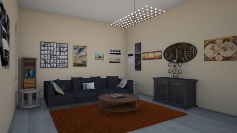 Travel Room - Living room  - by emivim