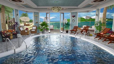 Hotel Pool Template - by Christine Keller