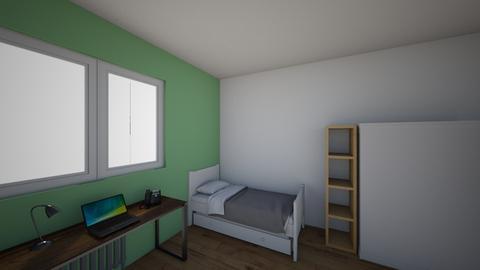 Habitacion - Bedroom - by MartaGarcia8