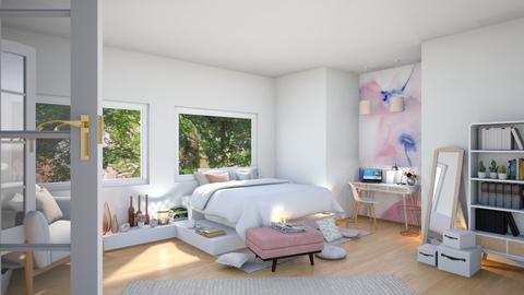 Student dorm contest  - Bedroom  - by ChichiAsr