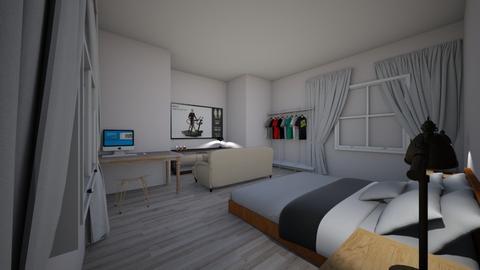 cuarto de visitantes  - Bedroom  - by valevasquez