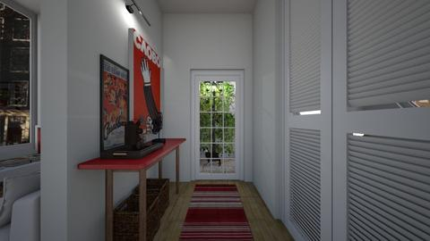 Casa159Hallway - Eclectic - by nickynunes
