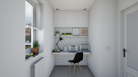Working Corner - Minimal - Office  - by Maria Esteves de Oliveira