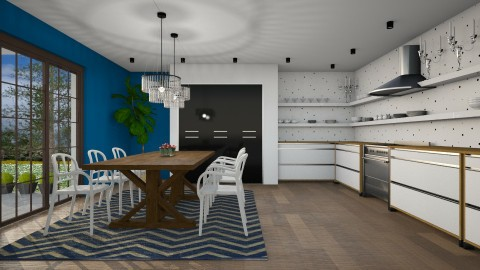 Cosy And Modern - Modern - Kitchen  - by 3rdfloor