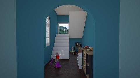 hallway - by cowplant_4life