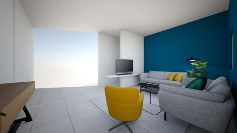 ORINGER FAMILY - Modern - Living room  - by KEREN HIMELBLEWO