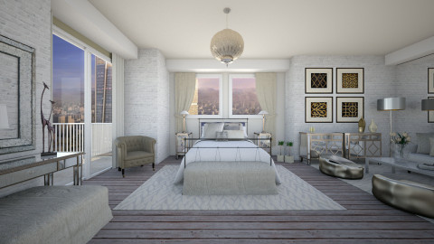 Feel the place - Modern - Bedroom  - by Lucii