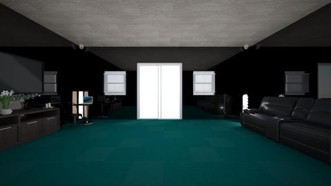 Movie Theater Room - Modern - Living room  - by Charginghawks