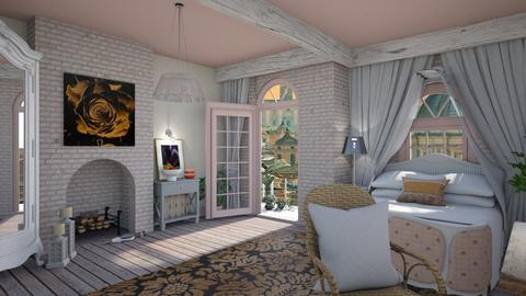 Juliettes balcony - Feminine - Bedroom  - by augustmoon