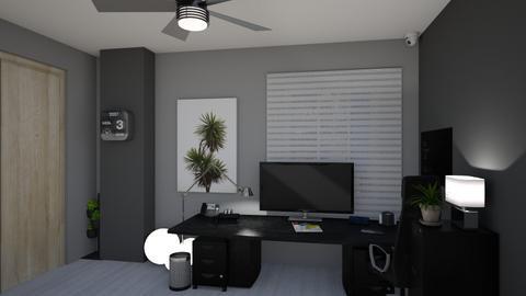Office and Bedroom - Modern - Bedroom  - by jesulialvarez