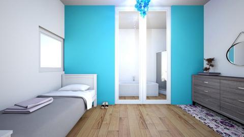 Basic En Suit - Modern - Bedroom  - by kamonela09