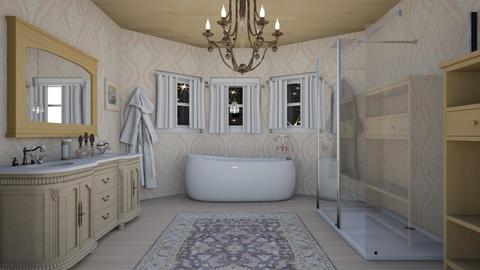 bath  - Glamour - Bathroom  - by steker2344