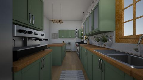 greenery - Kitchen  - by EliseClare