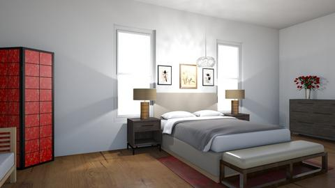 Feng Shui Bedroom - Bedroom  - by 29catsRcool