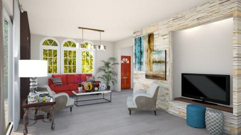 Todo es posible con Dios - Living room - by Hija de Dios