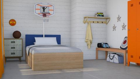 Basketball  - Masculine - Kids room  - by augustmoon