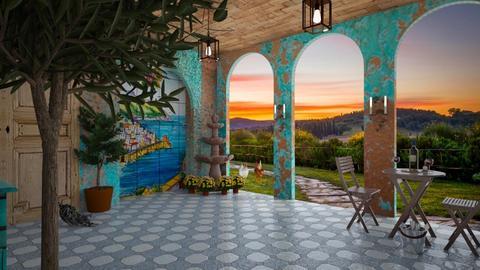 Villa - by MoxieCreative