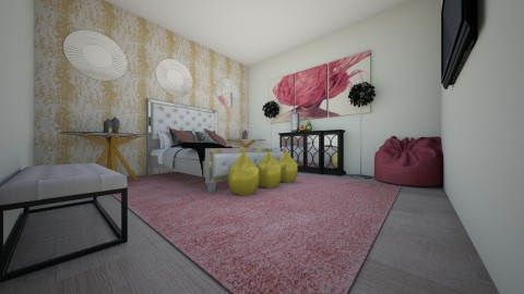 Bedroom - Glamour - Bedroom  - by sekena newell
