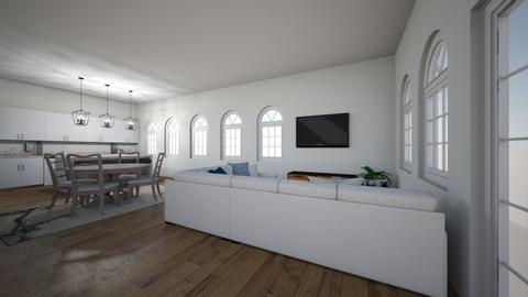 Modern living  - Living room  - by HarryPotterFan101