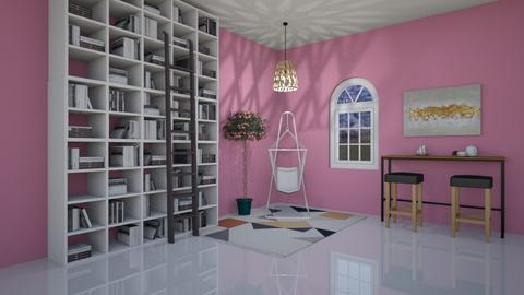 flower library - Classic - Office  - by aschaper