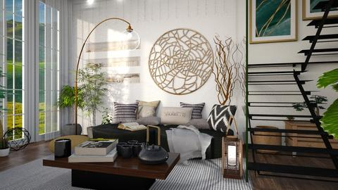 MIND PEACE - Living room  - by Galstyler