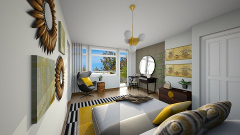 Orlando style - Modern - Bedroom  - by IdaJo