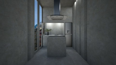 Casa128 - Minimal - Kitchen  - by nickynunes