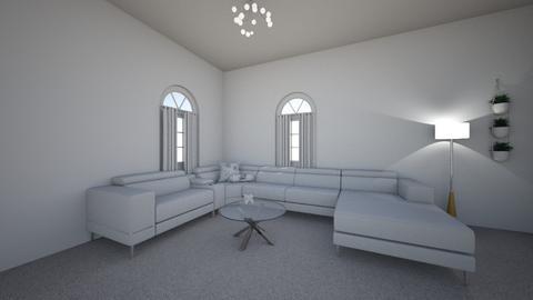 Living Room White - Living room  - by sydneyalexander5611
