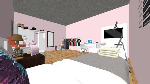 pieza 1 modelo - Vintage - Bedroom  - by alguien34567