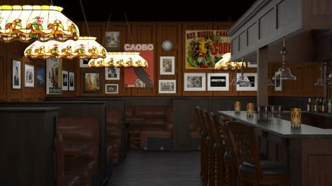 Gloomy Pub - by AC74