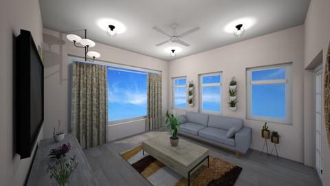 final energy efficient  - Modern - Living room  - by bananawjdhius