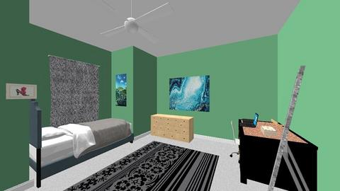 pre teen bed room - Kids room  - by thatssooverthetopp