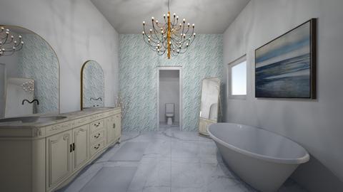 Luxe Bathroom - Bathroom  - by BaylorBear
