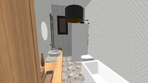 lazienka dziewczyn - Eclectic - Bathroom  - by kenam