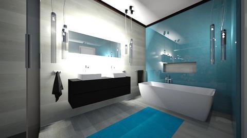 bathroom - by mo_de_in_studio