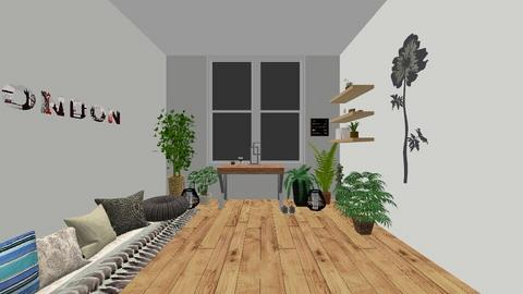 boho office - Rustic - Office  - by ktyra