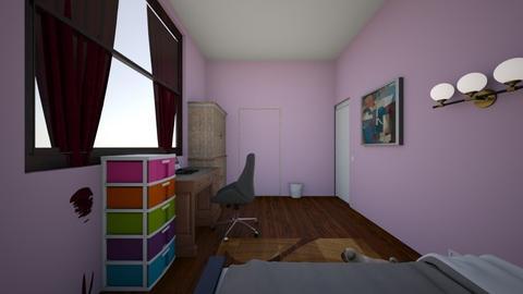 habitacion - Modern - Bedroom  - by Osvkio