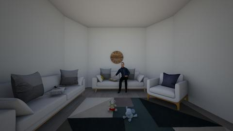 Pop undone living_kid - Classic - Living room  - by PoppsterWopster1235