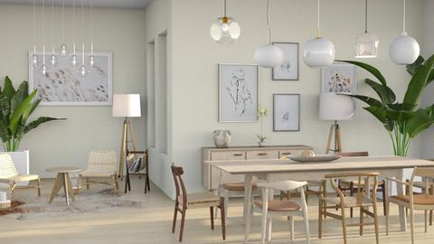 scandivanian dining room - Dining room  - by Moonpearl