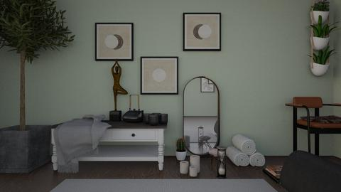 yoga - Living room  - by maytoll
