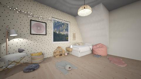 Girls Room - Kids room  - by designkitty31