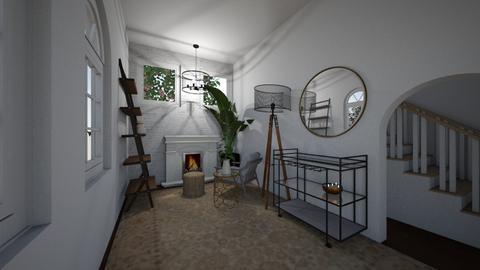 Basement Family Room - Living room  - by ellaemayo