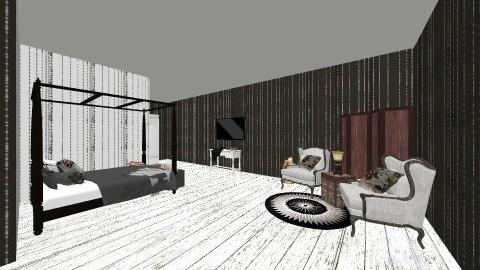 kjhbgvfcdxs - Rustic - Bedroom  - by opsdkfghj