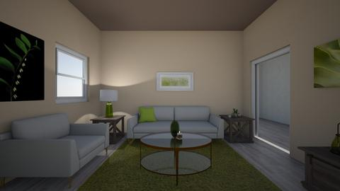 Red green room - Living room  - by Brooke0830