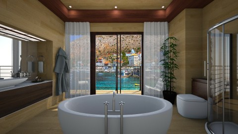 Beach Hut - Bathroom  - by Veny Mully