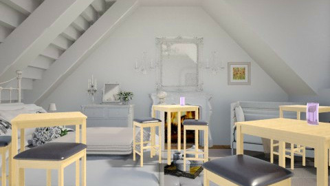 Shabby Chic in the Attic - Vintage - Bathroom - by Smart Dean