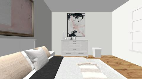 My ACTUALL ROOMroom hehhe - Bedroom  - by evelynvega2545