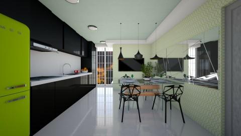 Kitchen Arch - Modern - Kitchen  - by aletamahi