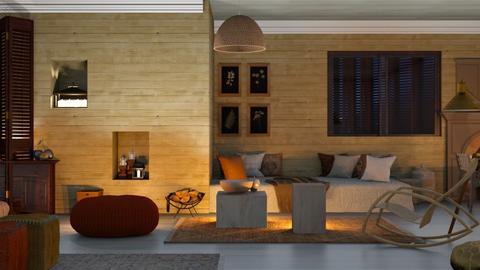 Prentan - Living room  - by ilikalle