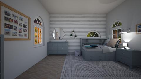 teen girl room no 2 - Bedroom - by mollie 1234